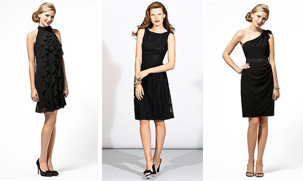 Choose your NEW little black dress