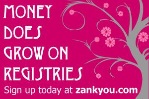 cash wedding registry