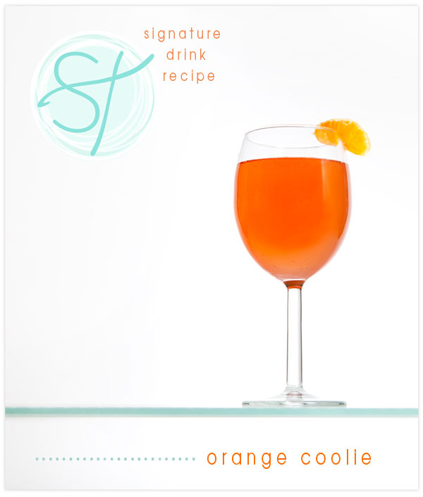 Signature Drink Recipe for Weddings