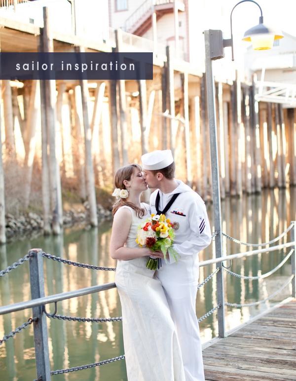 vintage sailor wedding inspiration